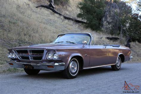 chrysler 300k chrysler 300k convertible california since new