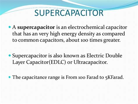 ultracapacitor battery ppt ultracapacitor battery ppt 28 images supercapacitors presentation 28 images nanomaterials