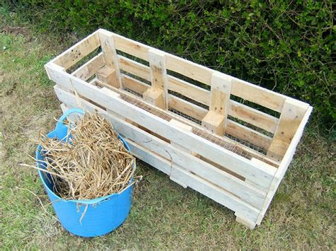 turn a pallet into a strawberry planter your projects obn