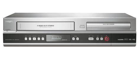 dvd cassette player dvd recorder vcr dvdr3545v f7 philips