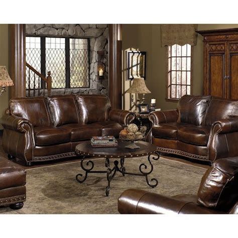 miskelly living room furniture usa premium leather 8755 stationary living room group