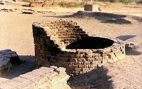 Indus Valley Plumbing by Trip Hobby Lothal The Harappan Civilization And Myth Of