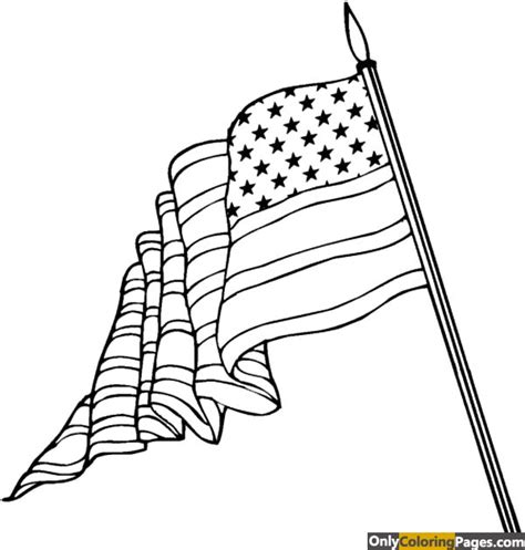 coloring book us flag american flag coloring page free printable