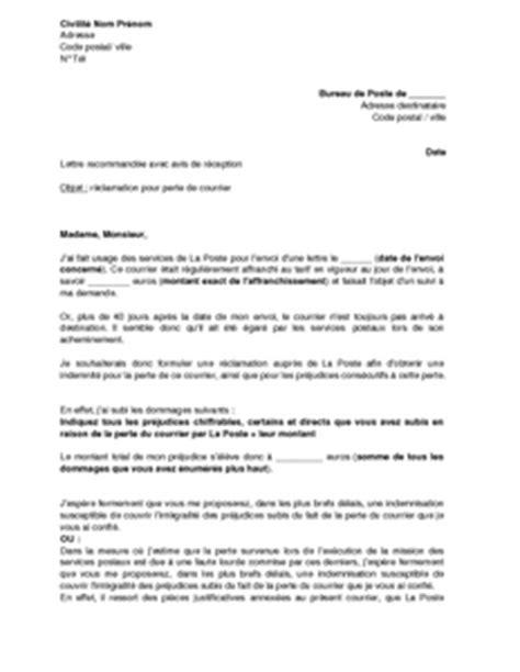 Lettre De Non Présentation à Un Rdv Sle Cover Letter Exemple De Lettre De R 233 Clamation