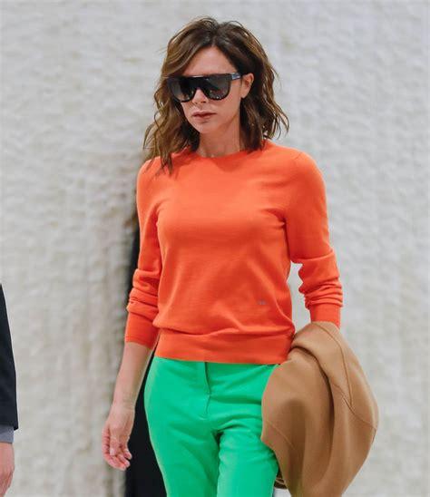 New Victotia Beckham Sesilia beckham s citrus flying clothes