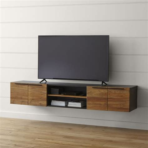 25 best ideas about floating tv stand on tv