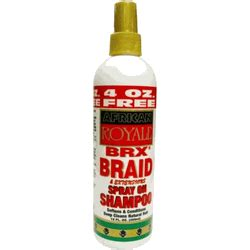 how to make braid spray with water and glycerine african royale brx braid spray on shoo 12oz