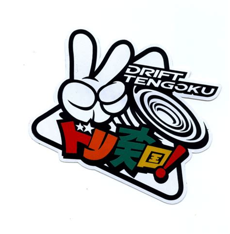 Stiker Sticker Drift Tengoku Turbo Jdm 116 new arrival turbo racing cars sticker jdm japan tokyo