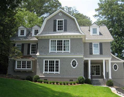 fawn siding gray shingle home paint color dorian gray sw7017 sherwin