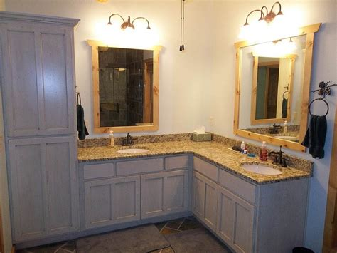 l shaped double sink bathroom vanity bathroom ideas