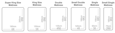 standard bed size uk standard mattress sizes the oak bed store