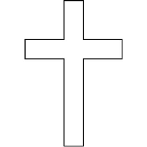 Cross Outline by Cross Clipart Cliparts Of Cross Free Wmf Eps Emf Svg Png Gif Formats