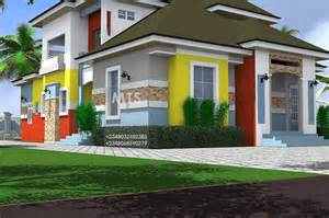 Home Designe by Mrs Nneoma 3 Bedroom Pent House Design
