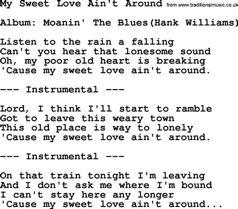 my lyrics williams my sweet lyrics 28 images song lyrics with guitar