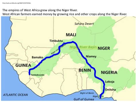 niger river map niger river africa map
