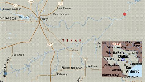 san saba texas map map for san saba river texas white water fm 1311 to fm 2732