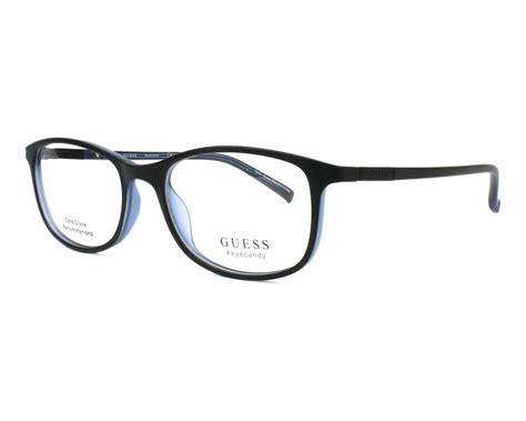 guess gu 1869f 002 frame kacamata guess eyeglasses gu 3005 002 black visionet