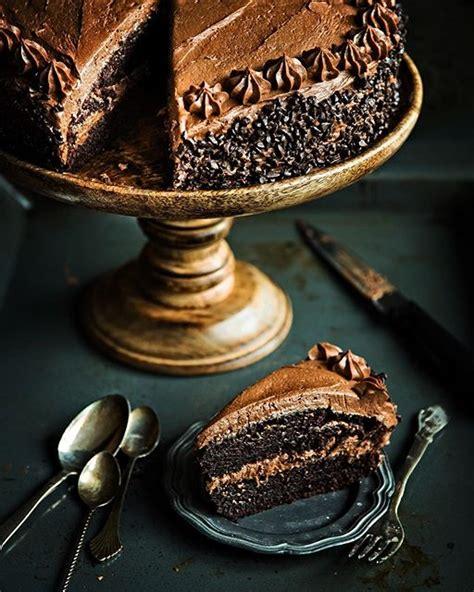 decadent chocolate birthday cake recipe  feedfeed