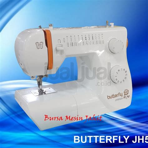 Mesin Jahit Portable Dibawah 1 Juta butterfly jh 5832 sewing machine new model jualjual