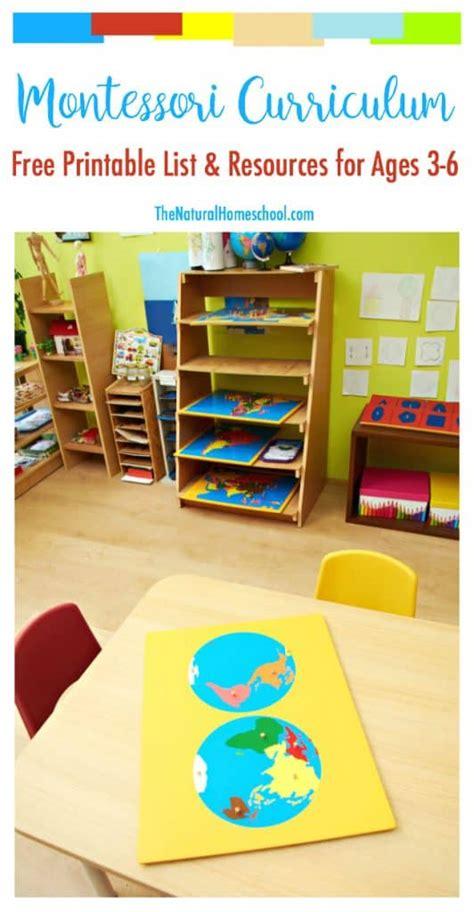 printable montessori curriculum the montessori curriculum approach to sensory education