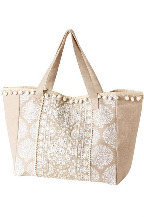 Embroidered Tote Bag 2 chic embroidered tote bag from washington by dolly