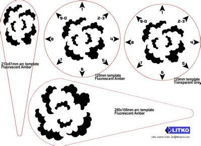 warhammer 40k blast templates frp product blast template 120mm circular