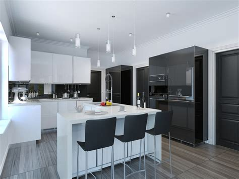 modern black kitchen luxury modern black kitchen delectable modern black