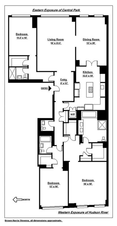 15 cpw floor plans 15 central park west rentals 15 cpw apartments for