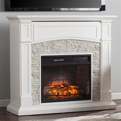 Infrared Media Fireplace by Wildon Home 174 Sheldon Infrared Media Electric Fireplace Reviews Wayfair