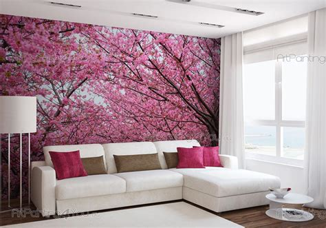 wall mural prints wall murals flowers canvas prints posters cherry blossoms 1836en