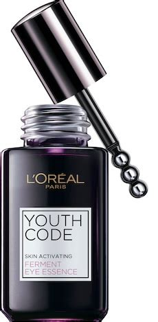 L Oreal Essence l or 233 al youth code ferment eye essence review