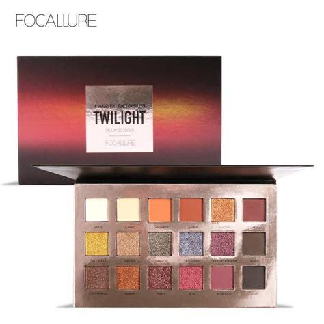 Focallure 18 Eyeshadow Palette 1 Bright focallure waterproof eyeshadow palette 18 colors cosmetic makeup glitter eye shadow make