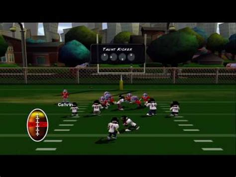 backyard football gameplay backyard football 10 xbox 360 hd gameplay season mode