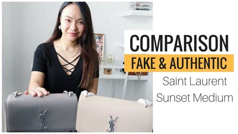 authentic  replica saint laurent ysl bag comparison