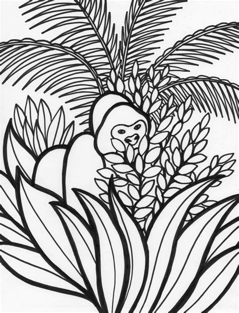 free printable rainforest coloring pages free printable rainforest coloring pages coloring home