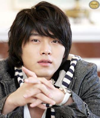 model rambut mandarin 90an pgp foto gambar aktor seleb cowok korea hyun bin