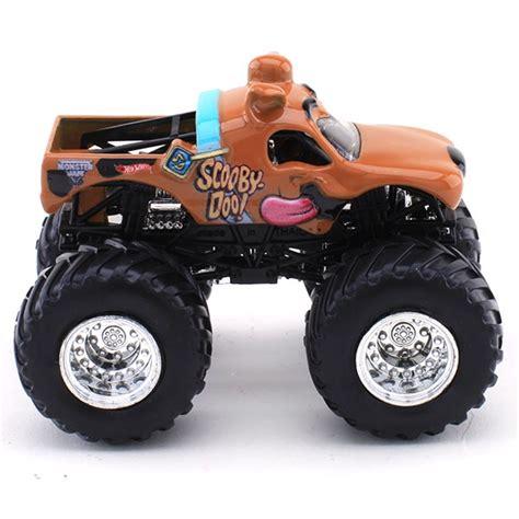 scooby doo truck wheels scooby doo die cast truck jam figure