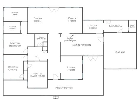 great room house plans one story great room floor plan single story distinctive house