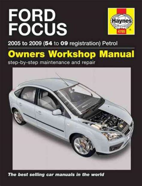 car repair manual download 2009 ford focus windshield wipe control ford focus petrol 2005 2009 haynes service repair manual uk sagin workshop car manuals repair