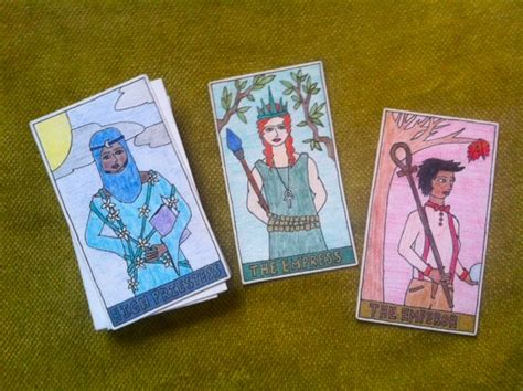 make tarot cards diy or die make your own tarot deck tarot
