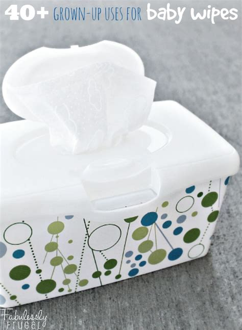7 Uses For Baby by 40 More Uses For Baby Wipes