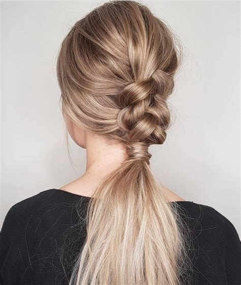 Easy Ponytail Hairstyles by 10 Trendiest Ponytail Hairstyles For Hair 2018 Easy
