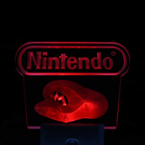 Ws0083 Nintendo Game Day Night Sensor Led Night Light