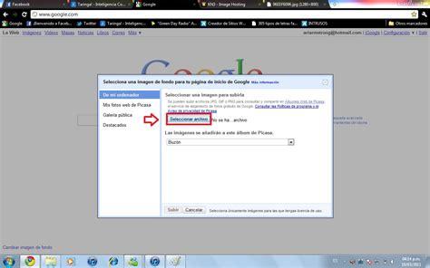 cambiar imagenes automaticamente html como cambiar el fondo de google taringa