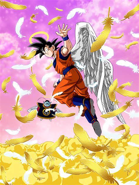 imagenes de goku angel message from another world goku angel dragon ball z