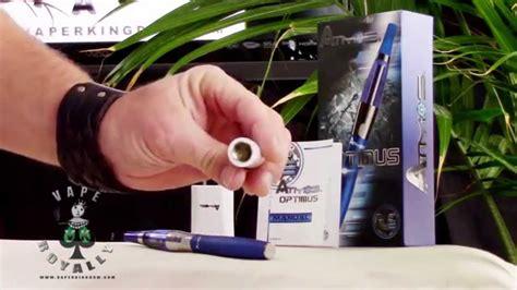 atmos vape tutorial atmos v2 vaporizer review youtube