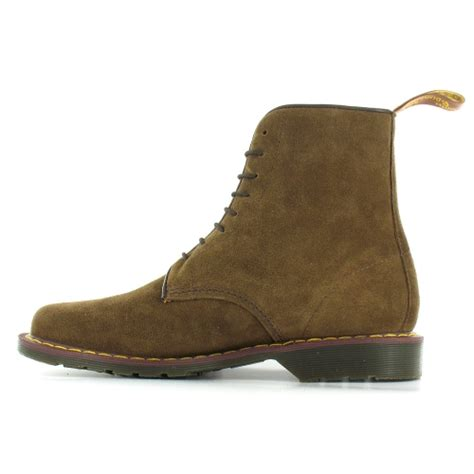 dr martens oscar jeffrey mens suede leather 8 eyelet boots