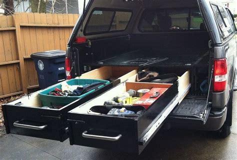 sliding truck drawer system woodworkerzcom