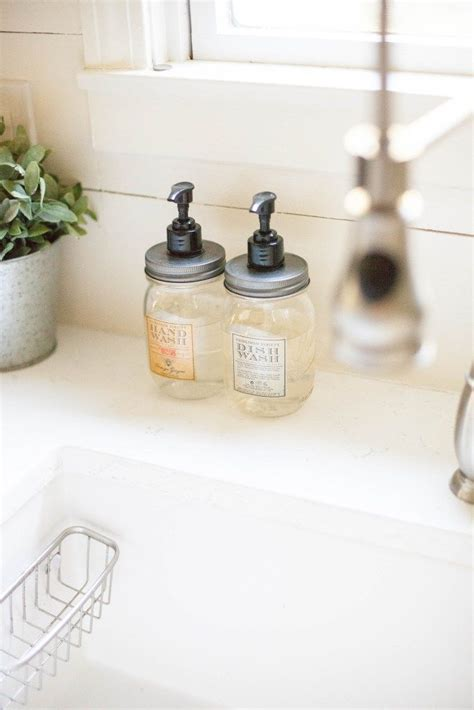 Kitchen Sink Soap Dispenser For Or Dish Soap by Best 25 Dish Soap Dispenser Ideas On Diy