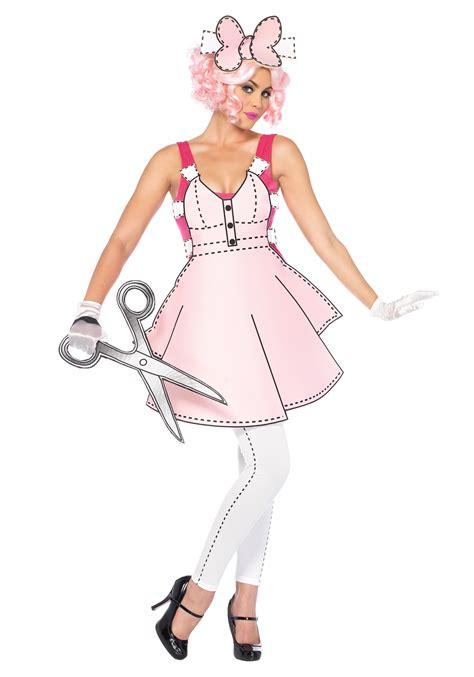 Paper Doll Costume To Make - s pretty paper doll costume